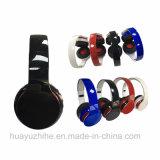 Auscultadores estereofónico de Bluetooth UV com FM e Mirco SD
