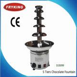 máquina de la fuente del chocolate de 3/5/7 gradas