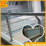 Glace durcie/stratifiée de balcon de Frameless lambrisse le constructeur
