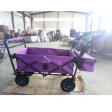Carro de dobramento dobrável do vagão para acampar e comprar