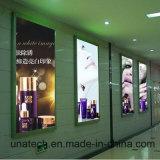 Personalizado montado en la pared marco de la exhibición de LED Caja de luz Imagen