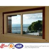 Алюминиевое двойное повиснутое окно