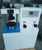 machine de test manuelle de compactage d'étalage de 200kn 20ton pour le bloc de la colle (YES-200)
