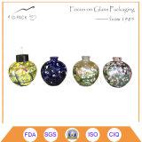 De Olie van het Glas van de kleur/de Schemerlamp van de Kerosine, Decoratieve Lantaarn
