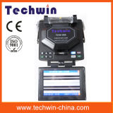 Giuntatrice ottica Tcw605 di fusione della fibra di Techwin Digital competente per costruzione delle righe di circuito di collegamento e di FTTX
