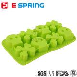 Kreative Silikon-Eis-Würfel-Tellersegment-Speiseeiszubereitung-Form der Schädel-Form-DIY