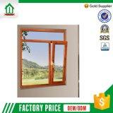 Finestra di vetro di alluminio fresca delle feritoie di prezzi di fabbrica della Cina (WJ- alu-001)
