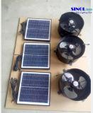 Ventilador de aterramento solar axial de 30 polegadas e 14 polegadas para parede com lâminas de alumínio e motor sem escova DC (SN2015004)
