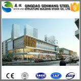 Edifício pré-fabricado da construção de aço para o mercado super do hotel