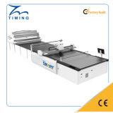 Cortadora auto de la tela del CNC de la máquina de la reducción de precios de la fábrica de la sincronización que introduce