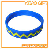 Bracelete feito sob encomenda do silicone, faixa do silicone para os presentes relativos à promoção (YB-SW-02)
