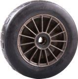 410/350-6 schäumte schwarze PU Schubkarre-Gummireifen