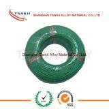Grüner weißer Thermoelementdraht KX mit Silikonharzisolierung