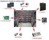 Outdoorp10 tela de indicador do diodo emissor de luz da cor cheia HD para anunciar o painel