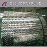 3003 5 Diamant-Checkered Blatt-rutschfeste Aluminiumplatte der Stab-4X8