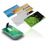 De mini Creditcard USB van Pendrive van de Kaart van de Aandrijving van de Flits USB
