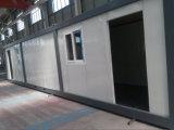 Chambre préfabriquée du conteneur 40feet pour l'ouvrier vivant dans le camp de travail