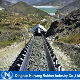 Bande de conveyeur en caoutchouc renforcée par cordon en acier