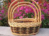 Новая Eco-Friendly корзина плодоовощ подарка вербы круглой формы напечатанная