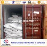 Fibra concreta dos PP da fibra para a torção da fibra da construção 18mm/48mm/54mm PP