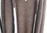 Winter Pure Color Open Front Knit Women Cardigan