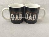 Taza de cerámica del día de padre. Taza del regalo del día de padre, taza del papá, taza para el papá