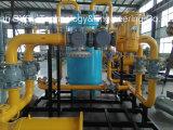 Industrielles Gas Schiene-Eingehangene Einheit