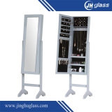 espejo de vestido de plata del marco de 5m m