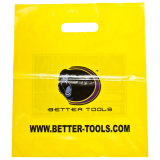 El LDPE imprimió las bolsas cortadas con tintas para las compras (FLD-8555)