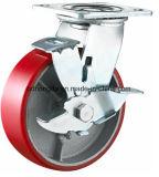 Pneumatisches Gummihochleistungsrad-industrielle Fußrolle