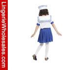 Симпатичный Costume игры роли матроса платья партии Halloween маленьких девочек