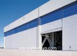 Portello del capannone dei velivoli del tessuto del PVC