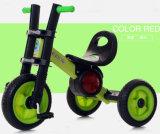 新しいデザインは三輪車の赤ん坊のペダルの三輪車をからかう