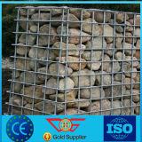Elektro-/heißer galvanisierter Schweißung Gabion Kasten für Stützmauer