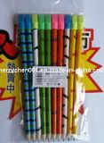 Crayon d'impression coloré avec érable Cartoon, Sky-015