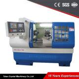 Macchina del tornio di CNC del servomotore con lavorazione con utensili in tensione Ck6136A-1