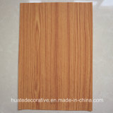 Papier décoratif de mélamine des graines en bois pour le contre-plaqué, forces de défense principale, panneau en stratifié, bois de teck