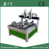 Macchina per la lavorazione del legno Nm-482 dell'incisione di CNC dei 2 assi di rotazione e della tagliatrice