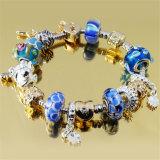 Het Kristal van de Juwelen van het lot van multi-Combinatie Geparelde Armband Swarovski