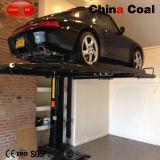 Подъем автомобиля гидровлического одиночного столба подземный