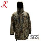 Сделайте куртку водостотьким звероловства камуфлирования (QF-943A)