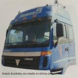 Il camion dell'Oman Etx parte la baracca superiore