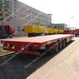 Низкий кровати 3 Axles 13m 60tons трейлер Semi