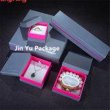 Caisse d'emballage de papier la meilleur marché solide de bijou pour la boucle, collier, pendant