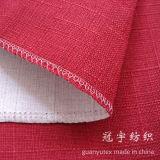 Sofa CoverのためのホームTextile Linen Fabric 100%年のPolyester