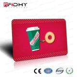 Carte sèche de PVC de lustre d'IDENTIFICATION RF de MIFARE DESFire EV2 2k