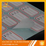 Papel en blanco escribible auto-adhesivo de encargo más enfermo