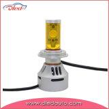 Фабрика Китая 3500 фара автомобиля СИД автомобильной лампочки накаливания H7 люмена для Skoda Octavia