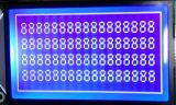 Écran LCD négatif de module de panneau de fond bleu d'affichage à cristaux liquides