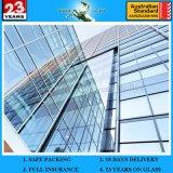 construction commerciale et résidentielle de qualité de 12mm Hige, mur en verre de double d'immeuble de bureau de mur rideau